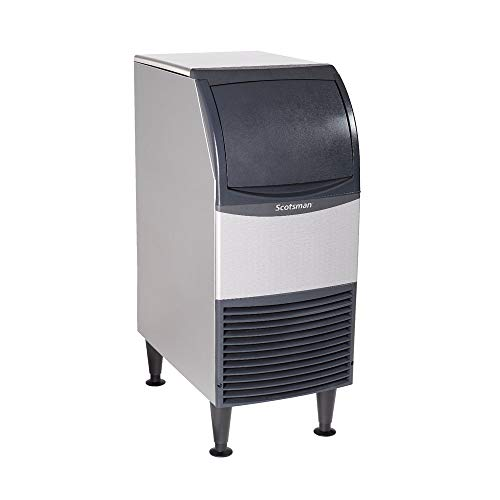 Scotsman UF0915A-1 15-Inch Air-Cooled Flake Undercounter Ice Maker Machine with 36 lb. Storage Capacity, 96 lbs/Day, 115v, NSF