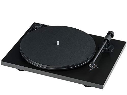 Pro-Ject Primary E, Audiophiler Plug&Play Plattenspieler (Schwarz)