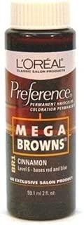 Loreal Preference #Br1 Mega Brown Cinnamon (6 Pack)