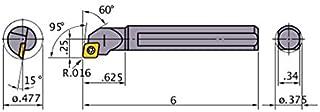 SHARS 1 TTJN RH T-Type Clamp Tri-Lock Right Hand Tool Holder for TNMG Inserts 404-7813 P