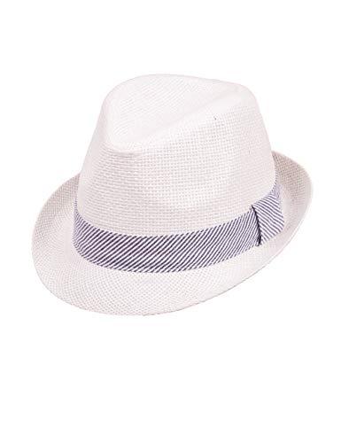 maximo Jungen Trilby Hut, Weiß (Weiss 1), (Herstellergröße: 51)