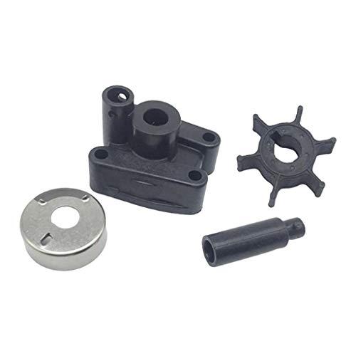 KESOTO Pump Impeller Pumpenlaufradsatz Ersatzteil für Yamaha 4-Takt 4PS Außenborder, Korrosionsbeständig