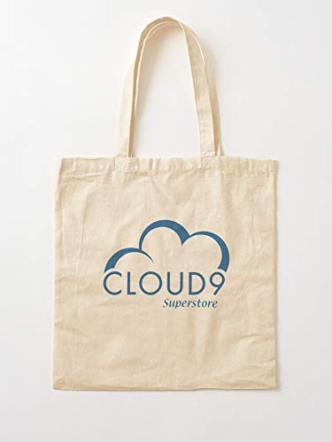 A Heavenly Have Super Nine Superstore Store Day 9 Cloud Cloud9 I Anh Canvas Grocery Bags Tote Bags...