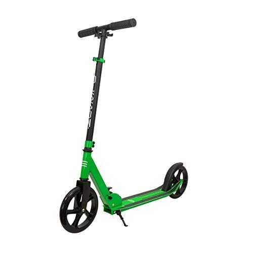 OLSSON - Patinete HOPP 200mm ABEC 9, Verde Giro 360º, Plegable