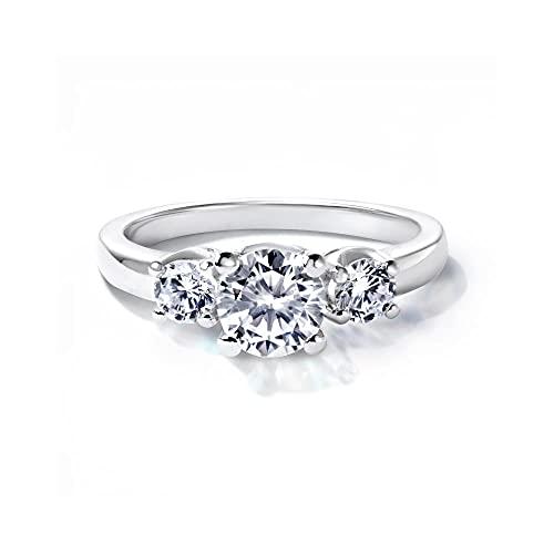 Gift from New York 指輪 レディース プラチナ 加工 人工ダイヤモンド 婚約指輪 エンゲージリング ブランド 女性 プレゼント