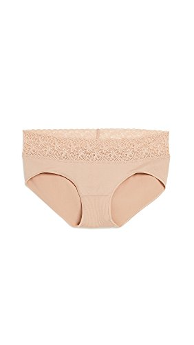 Product Image of the Rosie Pope Women's Maternity Seamless Hipster W. Lace, Nude, Medium