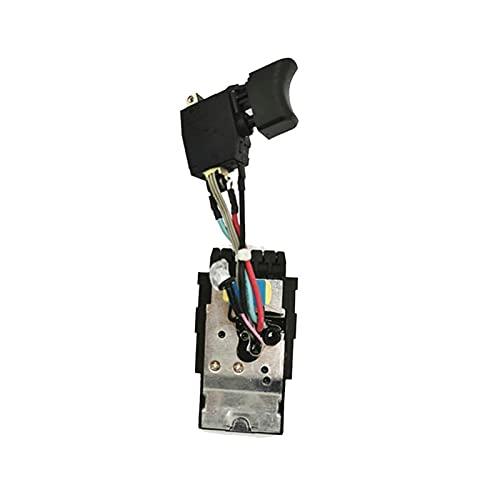 21.6V Interruptor Reemplazar el interruptor de velocidad eléctrico de la mano Llave eléctrica universal para Hilti SF22-A SIW22T-A SF10W-A22 SFC-22A SF22A SIW22TA SF10WA22 SF6A22 ( Color : Black )