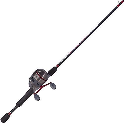 "Quantum Fishing Zebco ZR33MX662MHA, NS3 Zebco 33 Max Spincast Combo, 6'6"" Length 2Piece Rod, 2.6: 1 Gear Ratio, 1 Bearing, Medium/Heavy, Ambidextrous"