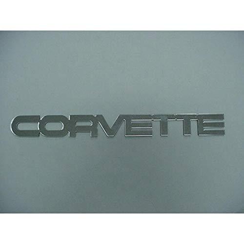corvette c4 chrome letters - 7