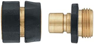Orbit Brass Hose Shut-Off Quick Connect Set 58285