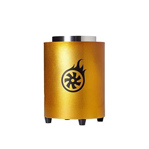 Shisha-Turbine NEXT Kohleanzünder Magic Gold | Elektrischer Kohlenanzünder für Shisha Kohle