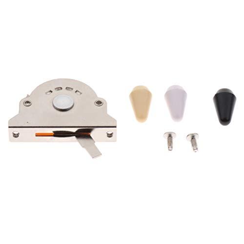 Interruptor Selector Pastilla 3 Vías Reemplazo para Guitarra Eléctrica Gibson LP