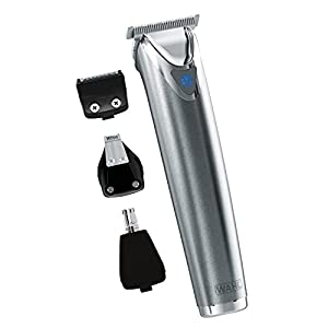 Wahl Lithium Ion+ 9818 - Beard and Nose Trimmer for Men