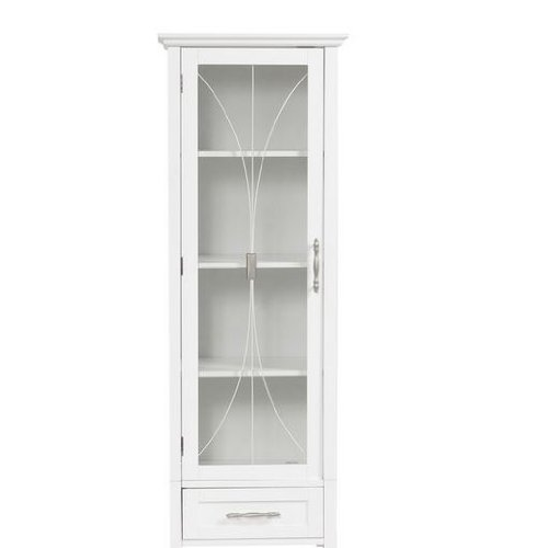 Bathroom Cabinet for All of Your Bathroom Linens. House All of Your Bathroom Accessories in This Beautiful Storage Cabinet. Bathroom Cabinets Make Great Bathroom Furniture, Especially This Tall Linen Storage Cabinet. Bathroom Storage Tower Is White.