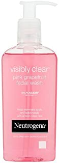 Neutrogena Visibly Clear Oil-Free Pink Grapefruit Facial Acne Wash (200ml)