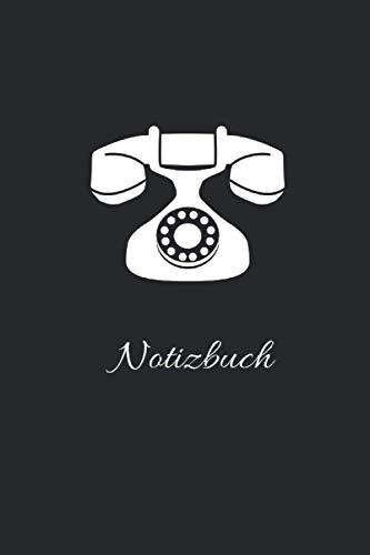 Telefon Notizbuch: Tolles Notizbuch mit 120 linierten Seiten im DIN A5 Format