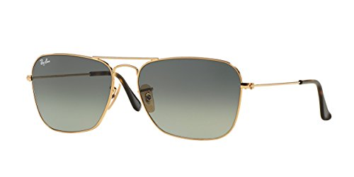 Ray-Ban Caravan Gold-coloured Zonnebril RB3136 181/71