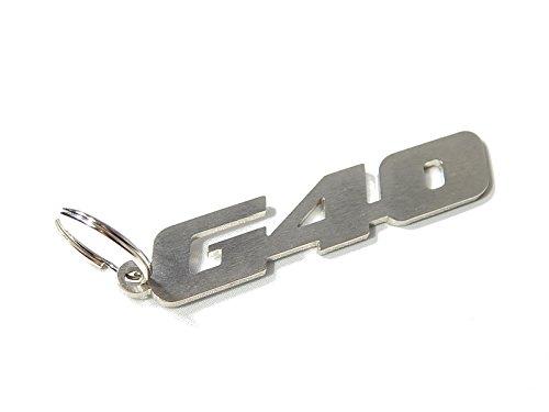 DisagrEE 'Llavero Polo G40–Acero Cepillado
