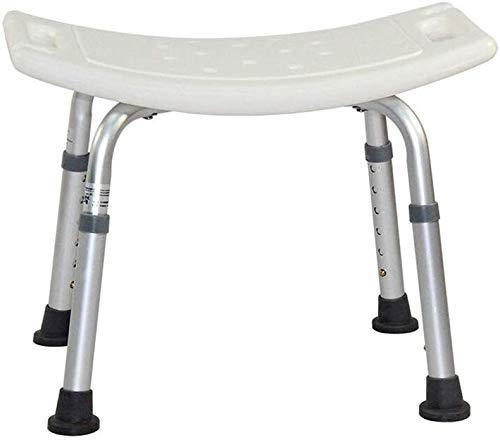 JF-XUAN Stools Bath Stool Shower Stool Bath Chair SeatLightweight AluminumPortableAdjustable HeightElderly Disabled Bearing AntiSlip Shower Seat Stool