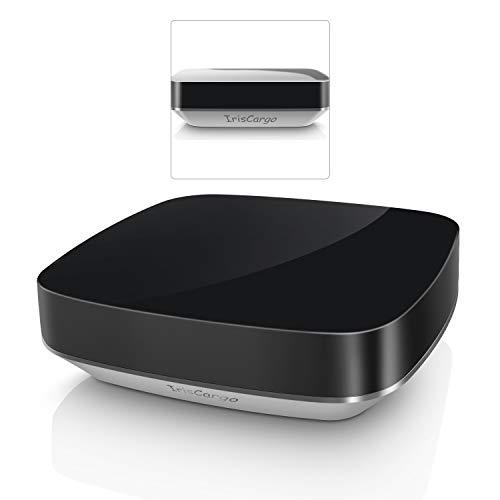 IrisCargo WiFi Smart IR Control Remoto Todo en uno Home Automation Mando a Distancia con App Control IR Hub Compatible con Alexa y Google Home