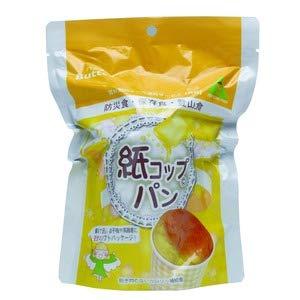 東京ファインフーズ 紙コップパン(バター) KB30 防災食 非常食 5年保存 1ケース(30個入り)