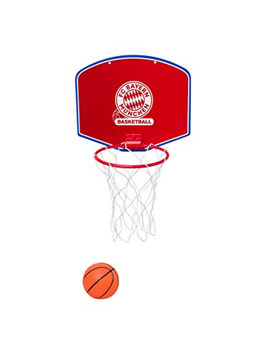 FC Bayern München Basketball Minibasketballkorb inkl. Miniball