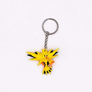 EXTOY Keychain Key Holder Key Ring Pendant 3D Mini Charmander Artic Zap Mewtwo Moltres Figure Toys Must Haves for Kids 4 Year Old Boy Gifts The Favourite Anime 5T Superhero Girls