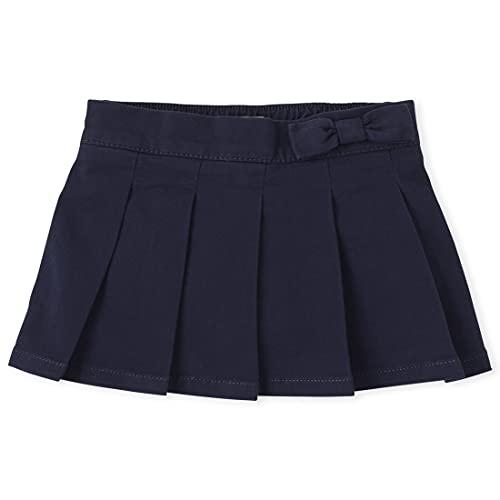 The Children's Place baby girls Skort School Uniform Skirt, Tidal, 2T US
