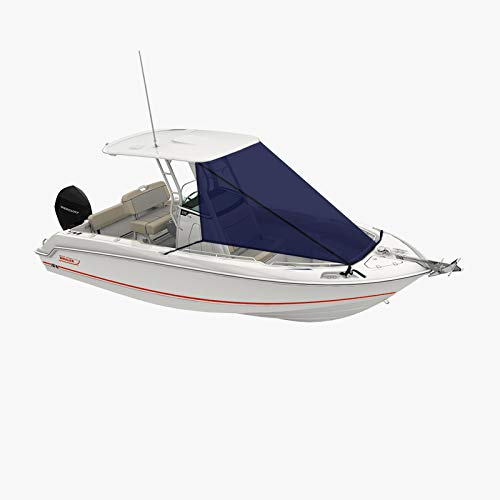Oceansouth T-Top Bow Shade (Bow Shade 9ft Length X 10ft Width) Blue