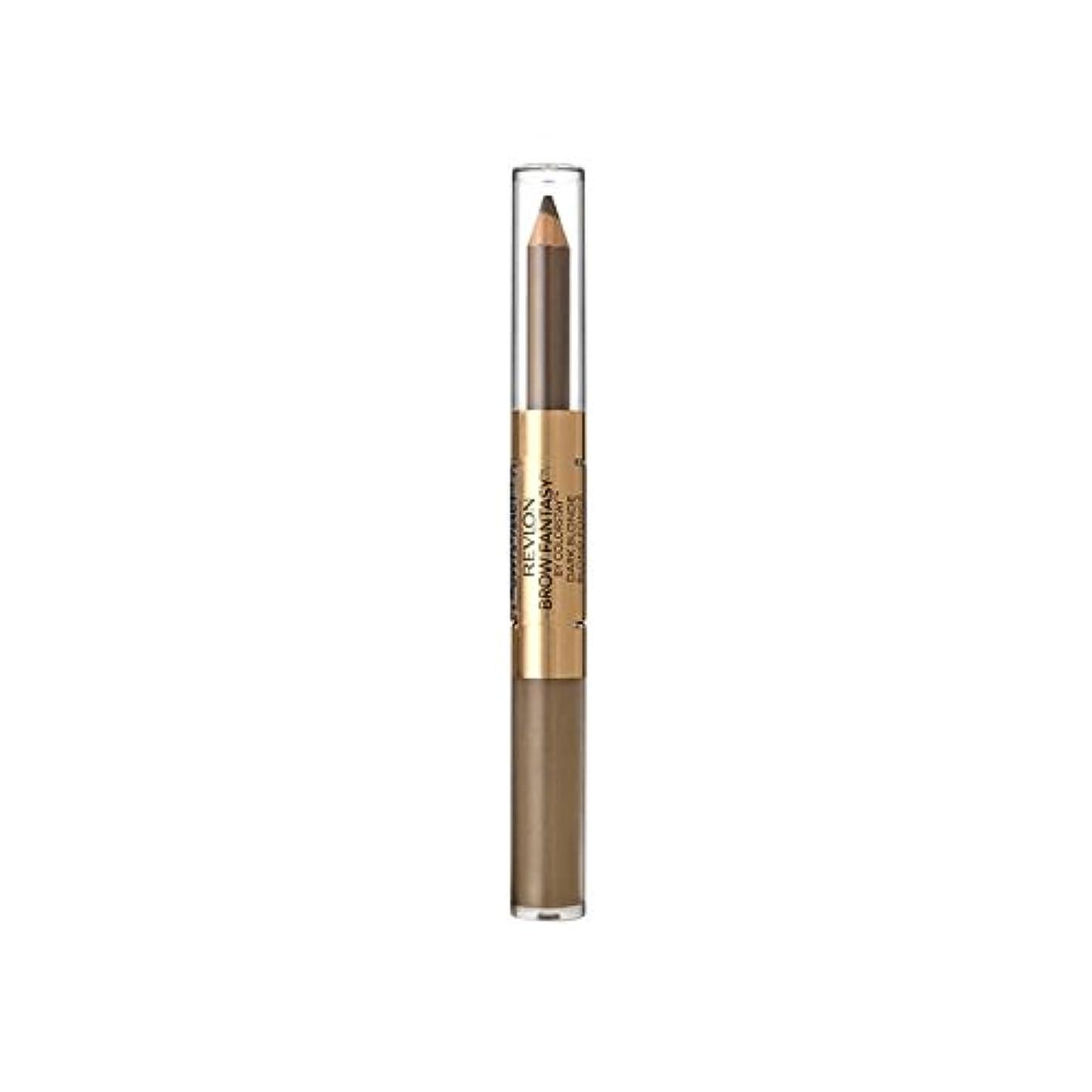 質素な代数的撤回するRevlon Brow Gel Pencil Dark Blonde (Pack of 6) - レブロンの眉ゲルペンシルダークブロンド x6 [並行輸入品]