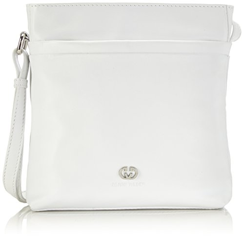 Gerry Weber Damen Piacenza Shoulder Bag Schultertaschen, Weiß (100), 21x22x6 cm