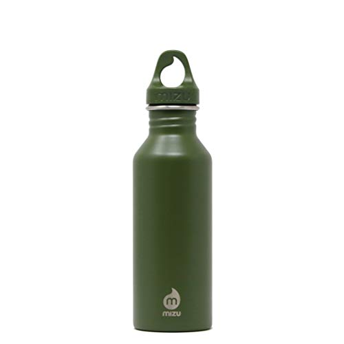 Mizu Life M5 Trinkflasche, Enduro Army, 500ml