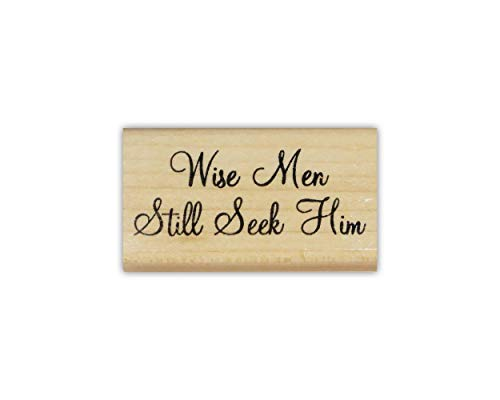 Sweet Grass Stamps Wise Men Still Seek Him Mounted Rubber Stamp - Religious Christmas #26