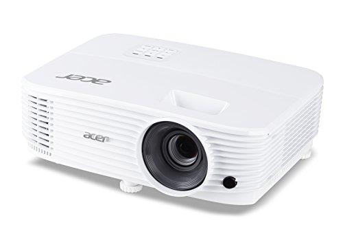 Acer P1155 DLP videoproiettore (SVGA (800 x 600 pixel) 4000 ANSI lumen, contrasto 20.000:1, 3D, Keystone, altoparlante da 3 Watt, HDMI (HDCP), HDMI (con MHL e HDCP), porta audio) Business / Education