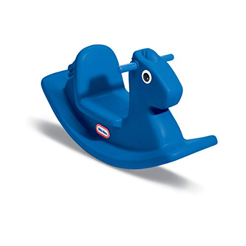 Little Tikes Rocking Horse Blue, 33.00 L x 10.00 W x 17.50 H Inches