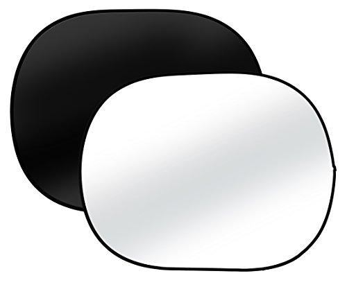 Bresser BR-3 Fondo plegable negro/blanco de tamaño 150cmx200cm