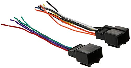 Scosche GM18B Compatible with 2007-11 Chevrolet Aveo Power / Speaker Connector / Wire Harness for Aftermarket Stereo Installation with Color Coded Wires