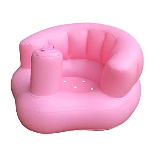 Sofá inflable del bebé bebé Silla portátil lindo para jugar Baño Planta playa junto a la piscina de color rosa para paseos en bote, kayak, natación, pesca, surf, playa