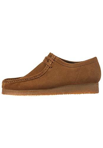 Clarks Originals Wallabee, Zapatos de Cordones Derby para Hombre, Marrón (Cola-), 42 EU