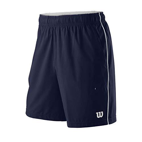 Wilson Herren Competition 8 Tennis-Shorts, Polyester/Elastan, blau (Peacoat), L