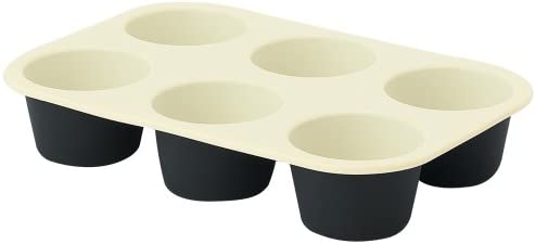 Scanpan Bargain Silicone Bake Pro 6-Cup Deep 55% OFF Muffin Tray