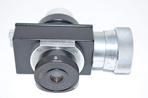 Unitron 12.5X Microscope 0.01mm Micrometer Toolmaker