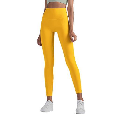 Oukeep Frauen Yoga EIN Stück Ohne Verlegenheit Linie Übung Fitness-Hose Doppelseitige Brokat Hautfreundliche Nackte Yoga-Hose Mit Hoher Taille