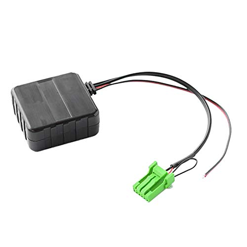 RJJX Coche Bluetooth Módulo Aux Cable Adaptador Inalámbrico HiFi Estéreo Audio Música Radio Fit para Acura RDX TSX MDX CSX (Color Name : Black)