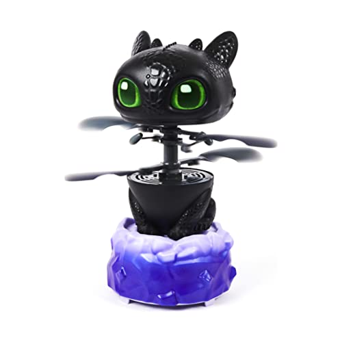 Dreamworks Dragons, Flying Toothless Interactive Dragon with Lights and Sounds, for Kids Aged 6 and up