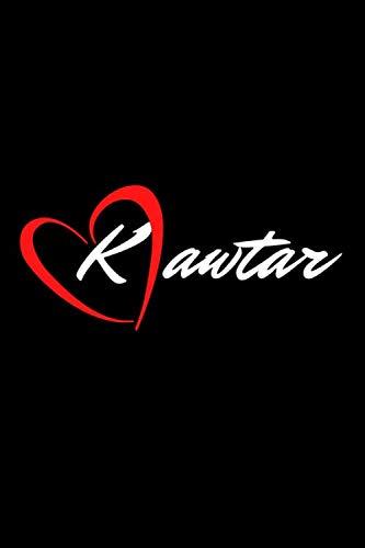 kawtar: nome donna arabo, idea rigalo diario 6x9 in 120 pagine.