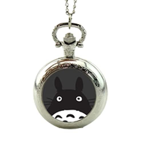 Taschenuhr mit Totoro-Motiv, Mein Nachbar Totoro-Schmuck, Medaillon