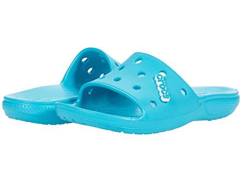 Crocs Classic Slide, Sandali a Ciabatta Unisex-Adulto, Digital Aqua, 39 EU