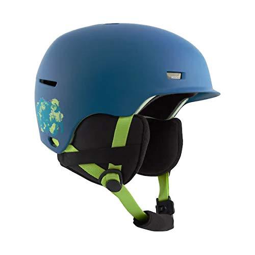 スノーボードヘルメットキッズ子供用アノンフラッシュBLUEBISONANONFLASH52-55cm(20-212021)ジュニアanonスキースノボヘルメットL/XL(52-55cm)