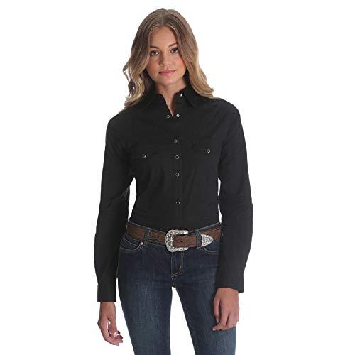 Wrangler -Camisa Mujer Negro S